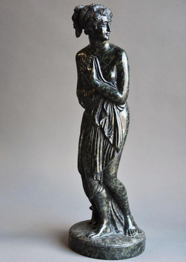 19thc serpentine figure of 'Venus Italica'