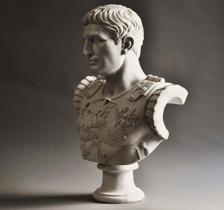 Figure Of Augustus Caesar As Centurion