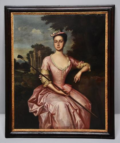 18th century oil painting of Mary Yeats