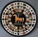 Superb quality Maltese pietre dure marble centre table - picture 5