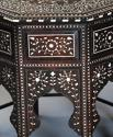 19th century profusely inlaid Anglo Indian octagonal table - picture 6