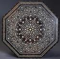 19th century profusely inlaid Anglo Indian octagonal table - picture 9