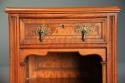 Pair of 19thc satin birch bedside cabinets with Aesthetic influence - picture 10