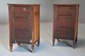 Pair of 19thc satin birch bedside cabinets with Aesthetic influence - picture 13