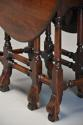 Rare 18th century mahogany gateleg table of small proportions - picture 10