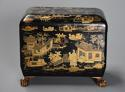 19th century Regency Chinoiserie style casket - picture 1