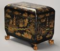 19th century Regency Chinoiserie style casket - picture 10