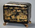 19th century Regency Chinoiserie style casket - picture 2
