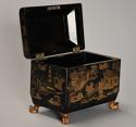 19th century Regency Chinoiserie style casket - picture 3