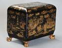 19th century Regency Chinoiserie style casket - picture 4
