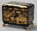 19th century Regency Chinoiserie style casket - picture 5