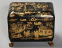 19th century Regency Chinoiserie style casket - picture 6