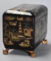 19th century Regency Chinoiserie style casket - picture 7