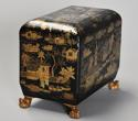 19th century Regency Chinoiserie style casket - picture 8