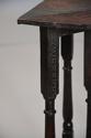 Rare & unusual late 17th century oak gateleg corner table - picture 9