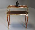 Fine quality French 19th century Kingwood two tier serpentine etagere - picture 4
