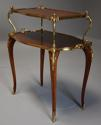 Fine quality French 19th century Kingwood two tier serpentine etagere - picture 6