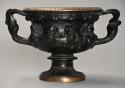 19thc Grand Tour bronze reduction 'Warwick Vase' after the Antique - picture 1