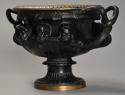 19thc Grand Tour bronze reduction 'Warwick Vase' after the Antique - picture 3