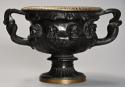 19thc Grand Tour bronze reduction 'Warwick Vase' after the Antique - picture 5