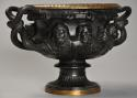 19thc Grand Tour bronze reduction 'Warwick Vase' after the Antique - picture 7