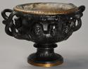 19thc Grand Tour bronze reduction 'Warwick Vase' after the Antique - picture 8