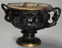 19thc Grand Tour bronze reduction 'Warwick Vase' after the Antique - picture 9