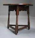 Early 18th century oak cricket table - picture 5