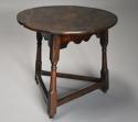 Early 18th century oak cricket table - picture 7