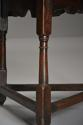 Early 18th century oak cricket table - picture 8