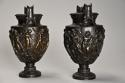 Pair of mid 19th century Grand Tour bronze 'Townley Vases' - picture 7