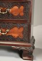 Superb quality mid 19thc mahogany press cupboard in the 18thc style - picture 11