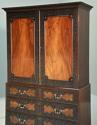 Superb quality mid 19thc mahogany press cupboard in the 18thc style - picture 6