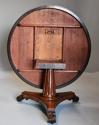 Superb quality William IVth mahogany tilt top breakfast table - picture 10