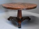Superb quality William IVth mahogany tilt top breakfast table - picture 2