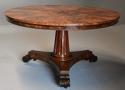 Superb quality William IVth mahogany tilt top breakfast table - picture 5