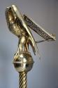 Fine quality 19thc Gothic revival brass eagle lectern - picture 10