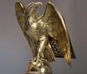 Fine quality 19thc Gothic revival brass eagle lectern - picture 2
