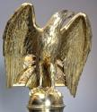 Fine quality 19thc Gothic revival brass eagle lectern - picture 3