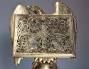 Fine quality 19thc Gothic revival brass eagle lectern - picture 4