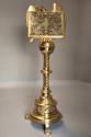 Fine quality 19thc Gothic revival brass eagle lectern - picture 5