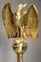 Fine quality 19thc Gothic revival brass eagle lectern - picture 7