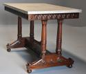 Rare fine quality 19thc French Empire centre table with marble top - picture 1