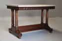 Rare fine quality 19thc French Empire centre table with marble top - picture 2