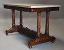 Rare fine quality 19thc French Empire centre table with marble top - picture 3