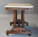 Rare fine quality 19thc French Empire centre table with marble top - picture 4