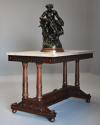 Rare fine quality 19thc French Empire centre table with marble top - picture 6