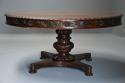 Mid 19th century large Anglo Indian padouk circular centre table - picture 1