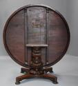 Mid 19th century large Anglo Indian padouk circular centre table - picture 13