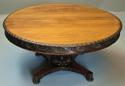 Mid 19th century large Anglo Indian padouk circular centre table - picture 2